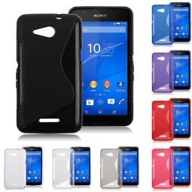 S Line silikon skal Sony Xperia E4G