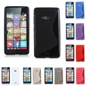 S Line silikon skal Microsoft Lumia 540