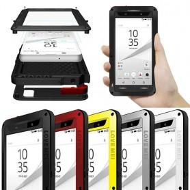 LOVE MEI Powerful Sony Xperia Z5 mobilskal skydd metall