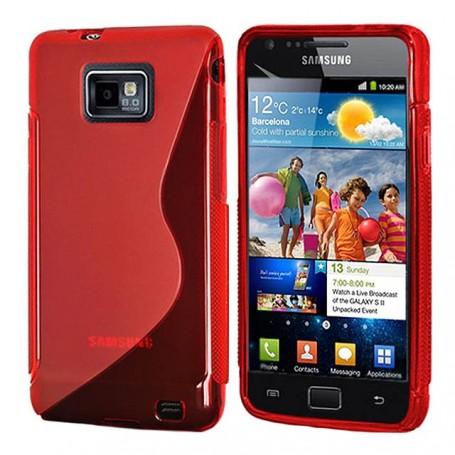 S Line Silicone Case Galaxy S2 / Plus