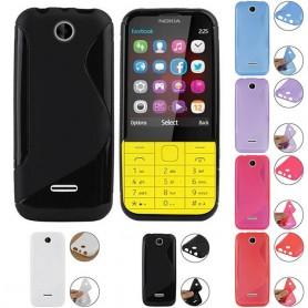 S Line silikon skal Nokia 225