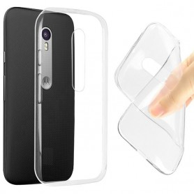 Motorola Moto G3 Silikon Transparent