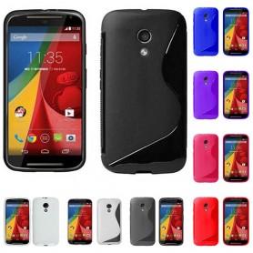 S Line silikon skal Motorola Moto G2