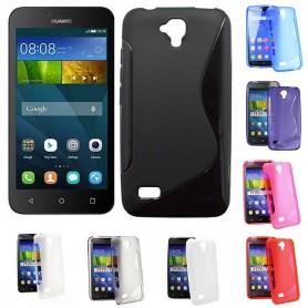 S Line silikon skal Huawei Y5 / Y560