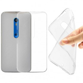 Motorola Moto X Style Silikon skal Transparent