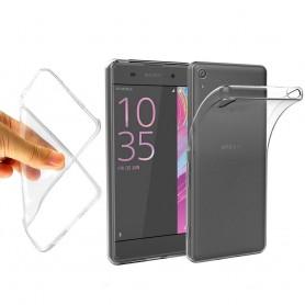 Sony Xperia XA Silikon skal Transparent