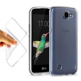 LG K4 Silikon skal Transparent