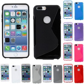 S Line silikon skal Apple iPhone 7 Plus