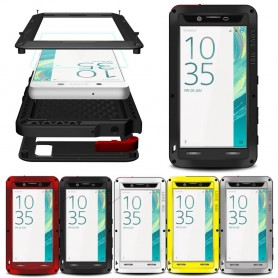 LOVE MEI Powerful Sony Xperia X mobilskal metall