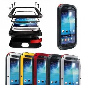 LOVE MEI Powerful Samsung Galaxy S4 mobilskal metall