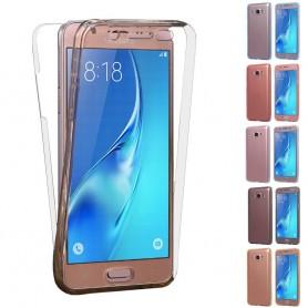 360 heltäckande silikon skal Galaxy J7 2016