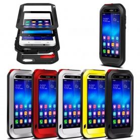 LOVE MEI Powerful Huawei Honor 6 mobilskal metall