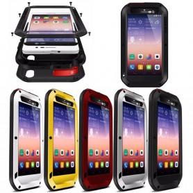 LOVE MEI Powerful Huawei Ascend P7 mobilskal metall