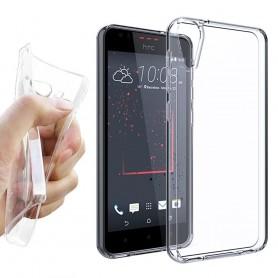 HTC Desire 10 Lifestyle Silikon skal Transparent