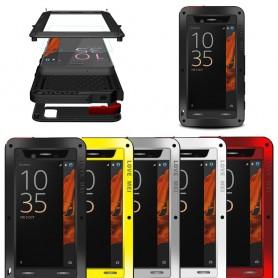 LOVE MEI Powerful Sony Xperia XZ mobilskal metall
