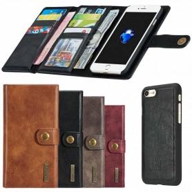 Multiplånbok Tri-Fold 12 kort iPhone 7 Plus / 8 Plus mobilskal