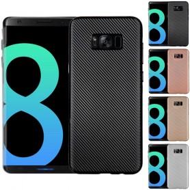 Carbon Fibre skal Samsung Galaxy S8