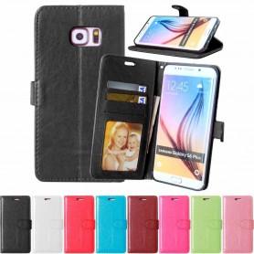 Mobilplånbok 3-kort Samsung Galaxy S6 Edge+