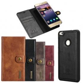 Mobilplånbok Magnetisk DG-Ming Huawei Honor 8 Lite/P8 Lite 2017