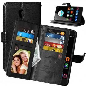 Mobilplånbok Dubbelflip Flexi 8-kort ZTE Blade V7