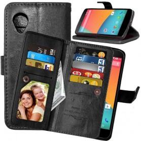 Mobilplånbok Dubbelflip Flexi 8-kort LG Nexus 5 E980