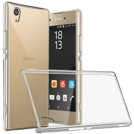 Clear Hard Case Sony Xperia L1 G3311 transparent mobil skal