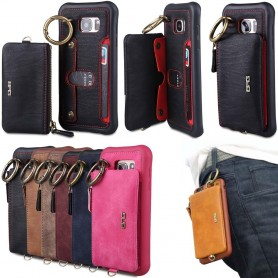 BRG skal 2i1 med avtagbar plånbok Samsung Galaxy S7 SM-G930F