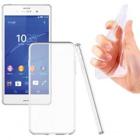 Sony Xperia Z1 Silikon skal Transparent