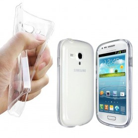 Samsung Galaxy S3 Mini silikon skal transparent