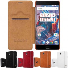 Nillkin Qin FlipCover OnePlus 3/3T mobil skydd fodral CaseOnline.se