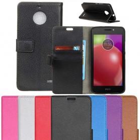 Mobilplånbok Motorola Moto E4, mobil skal fodral CaseOnline.se