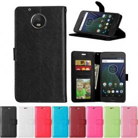 Mobilplånbok 3-kort Motorola/Lenovo Moto G5 Plus