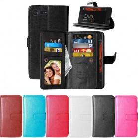 Mobilplånbok Dubbelflip Flexi 9-kort Sony Xperia X Compact CaseOnline.se