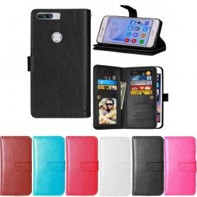 Dubbelflip Flexi 9-kort Huawei Honor 8 Pro mobil skal CaseOnline.se