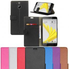 Mobilplånbok 2 kort sedel ställ HTC 10 EVO skydd CaseOnline.se