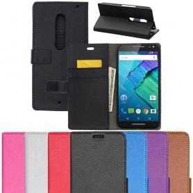 Mobilplånbok Motorola Moto X Style mobilskal fodral skydd