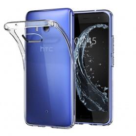HTC U11 Silikon skal Transparent mobil skal skydd CaseOnline