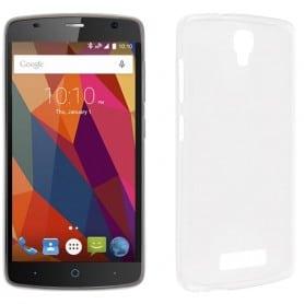 ZTE Blade L5 Silikon skal Transparent mobil skal skydd