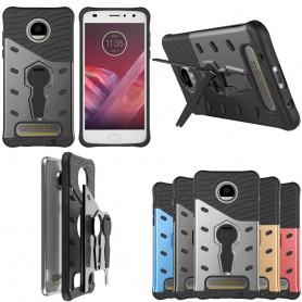 Sniper Case mobil skal med ställ Motorola Moto Z2 Play XT1710 caseonline