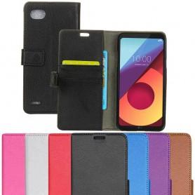 Mobilplånbok 2-kort LG Q6 M700 fodral skydd