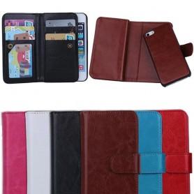 Dubbelflip Magnet 2 i 1 iPhone 5, 5S mobilplånbok mobilskal