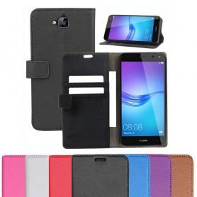 Mobilplånbok Huawei Y6 2017 MYA-L41 mobilskal fodral skydd