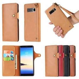 Retro Mobilplånbok Samsung Galaxy Note 8 mobilskal fodral caseonline