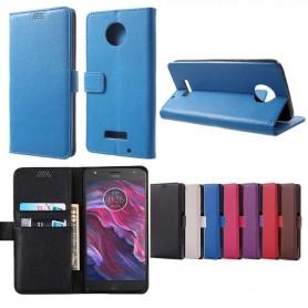 Mobilplånbok Motorola/Lenovo Moto X4 mobilskal 2 kort fodral