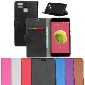 Mobilplånbok 2-kort Asus Zenfone Zoom S ZE553KL fodral skydd vaska