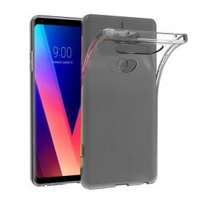 LG V30 Silikon skal Transparent mobilskal tpu