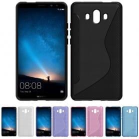S Line silikon skal Huawei Mate 10 mobilskal skydd