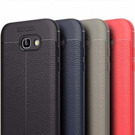 Läder mönstrat TPU skal Samsung Galaxy A3 2017 mobilskal