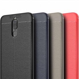 Läder mönstrat TPU skal Huawei Mate 10 Lite mobilskal