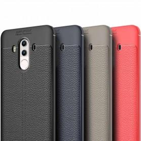 Läder mönstrat TPU skal Huawei Mate 10 PRO mobilskal skydd